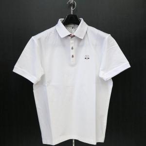 サンタフェ 半袖ポロシャツ 白 52サイズ 95811-001 santafe|wanwan