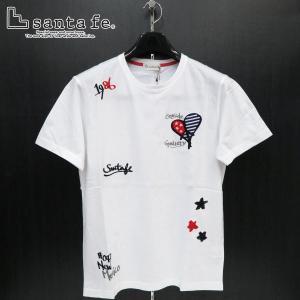 サンタフェ 半袖Tシャツ 白 50サイズ 95818-001 santaFe|wanwan