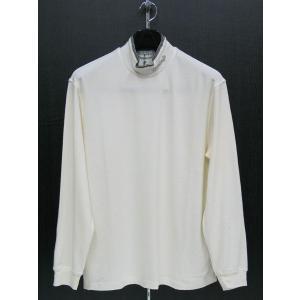 サンタフェ ハイネック長袖Tシャツ オフシロ 96401-001 santaFe 4Lサイズ|wanwan