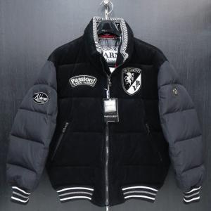 バーニヴァーノ ダウンジャケット 黒 Lサイズ BAW-GDB2602-09 BARNI VARNO|wanwan