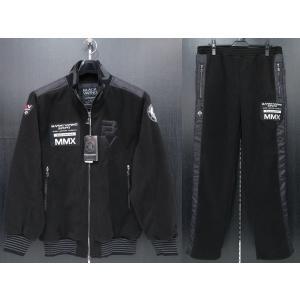 バーニヴァーノ フリーストラックジャケット上下セット 黒 LLサイズ BAW-GSS2679-09 BARNI VARNO|wanwan