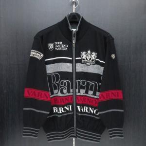 バーニヴァーノ フルジップカーディガン 黒 Lサイズ BAW-GSW2628-09 BARNI VARNO|wanwan