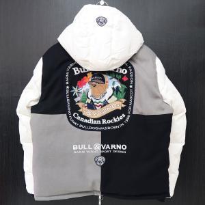 バーニヴァーノ ダウンジャケット LLサイズ 白 BAW-HDB3001-01 BARNI VARNO 新作|wanwan