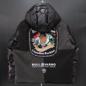 バーニヴァーノ ダウンジャケット Lサイズ 黒 BAW-HDB3001-09 BARNI VARNO 新作|wanwan