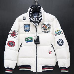 バーニヴァーノ ダウンジャケット 白 LLサイズ BAW-HDB3005-01 BARNI VARNO 新作|wanwan