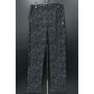 バーニヴァーノ カジュアルパンツ 黒/白 M-Lサイズ BAW-HSP3068-07 BARNI VARNO|wanwan