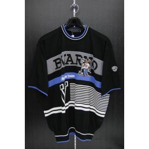 バーニヴァーノ 夏物半袖セーター BSS-FSW2040-09 BARNI VARNO 3Lサイズ|wanwan