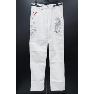バーニヴァーノ 5ポケットジーンズ 白 79cm BSS-HJZ2880-01 BARNI VARNO|wanwan