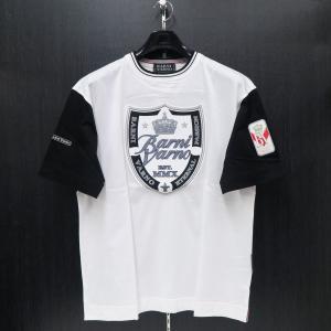 バーニヴァーノ 半袖Tシャツ 白 LLサイズ BSS-HTH2828-01 BARNI VARNO|wanwan