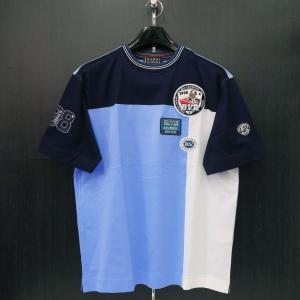 バーニヴァーノ 半袖Tシャツ M/Lサイズ BSS-HTH2830-69 BARNI VARNO ブルドッグ|wanwan