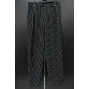 3タックパンツ 黒 85cm KF-6510 スラックス|wanwan
