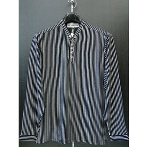 ビーアンビション 長袖Tシャツ 黒 T-18203-B BE AMBITION|wanwan