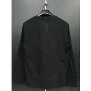 ビーアンビション 長袖Tシャツ 黒 T25204-BB BE AMBITION|wanwan
