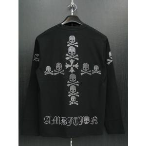ビーアンビション 長袖Tシャツ 黒 T25204-BS BE AMBITION|wanwan