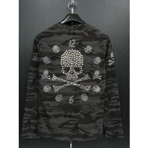 ビーアンビション 長袖Tシャツ 黒/グレー T25205-GS BE AMBITION|wanwan