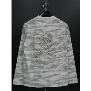 ビーアンビション 長袖Tシャツ 白 T25205-WS BE AMBITION|wanwan