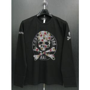 ビーアンビション 長袖Tシャツ 黒 T25210-BC BE AMBITION|wanwan