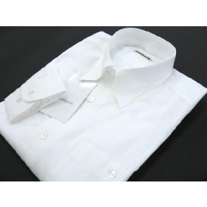 BARBANO スナップダウン長袖シャツ 白 V4-2300-0-52 3Lサイズ|wanwan