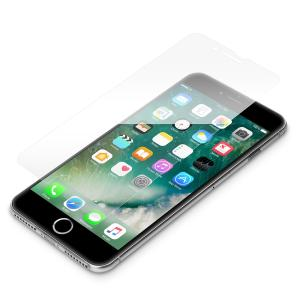 PG-17LGL11 iPhone8Plus iPhone7Plus  液晶保護ガラス    強化ガラス 9H 飛散防止 撥水 気泡 スマホ 強化ガラスフィルム iPhone 7 8 Plus wao-shop