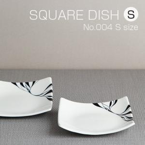 砥部焼 おしゃれ 【スクエアディッシュ S】 お皿 角皿 取皿 小物入れ 窯元 和将窯 Washo-004|wapal
