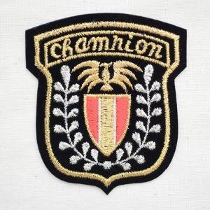 エンブレムワッペン CHAMPION チャンピオン 名前 作り方 914-91053|wappenstore