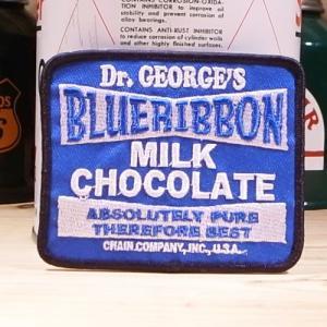 USAアドバタイジングワッペン  ブルーリボン ミルクチョコレート|wappenstore