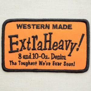 USAアドバタイジングワッペン Extra Heavy(オレンジ)|wappenstore