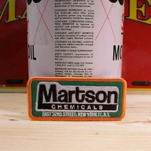 USAアドバタイジングワッペン Martson Chemicals(グリーン)|wappenstore