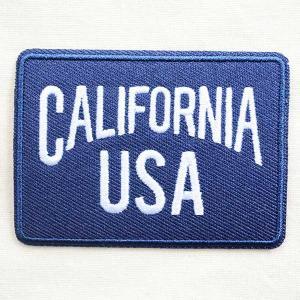 USAアドバタイジングワッペン CALIFORNIA USA|wappenstore