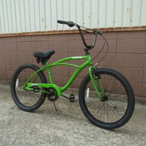 自転車/ビーチクルーザー ニューサブライム New Sublime(グリーン/緑) 送料無料 *メール便不可 *代引き不可|wappenstore
