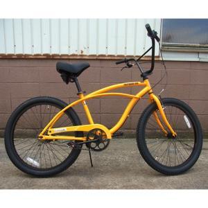自転車/ビーチクルーザー ニューサブライム New Sublime(イエロー/黄色) 送料無料 *メール便不可 *代引き不可|wappenstore