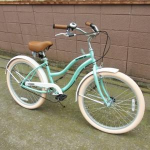 自転車/ビーチクルーザー サンタクルーズ Santa Cruz(サックスブルー/青) 送料無料 *メール便不可 *代引き不可|wappenstore