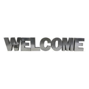 アルファベットサイン/ブリキ立体文字看板(電球なし) WELCOME ウェルカム(全5色) アメリカンサイン *メール便不可|wappenstore
