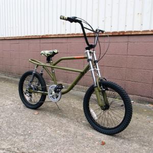 自転車/BMX フリーキーバイク Freaky Bike(マットオリーブ) 迷彩/カモフラージュ仕様 送料無料 *メール便不可 *代引き不可|wappenstore