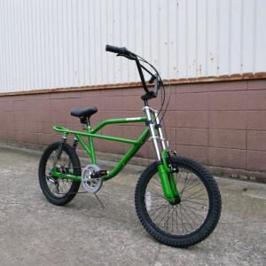自転車/BMX フリーキーバイク Freaky Bike(グリーン/緑) 送料無料 *メール便不可 *代引き不可|wappenstore