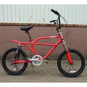 自転車/BMX フリーキーバイク Freaky Bike(レッド/赤) 送料無料 *メール便不可 *代引き不可|wappenstore