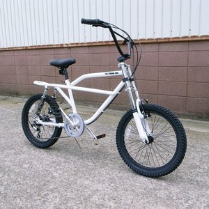 自転車/BMX フリーキーバイク Freaky Bike(ホワイト/白) 送料無料 *メール便不可 *代引き不可|wappenstore