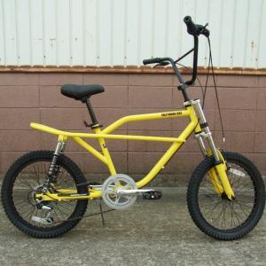 自転車/BMX フリーキーバイク Freaky Bike(イエロー/黄色) 送料無料 *メール便不可 *代引き不可|wappenstore