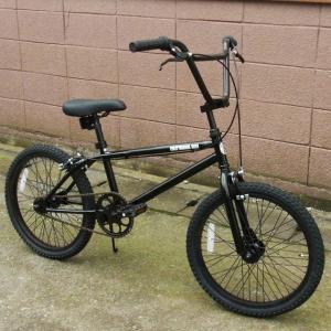自転車 BMX ビーエムエックス(ブラック/黒) 送料無料 *メール便不可 *代引き不可|wappenstore