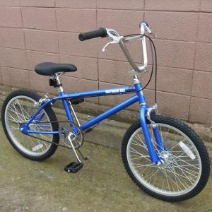 自転車 BMX ビーエムエックス(ブルー/青) 送料無料 *メール便不可 *代引き不可|wappenstore
