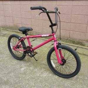 自転車 BMX ビーエムエックス(ピンク) 送料無料 *メール便不可 *代引き不可|wappenstore