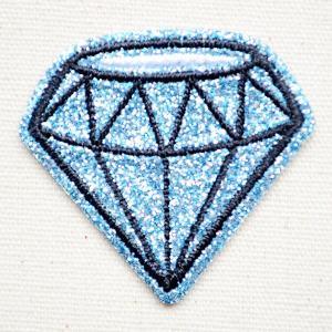 ワッペン リンリンエミリー (ダイヤモンド) 名前 作り方 BB350-BB68|wappenstore