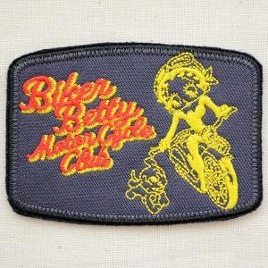 ワッペン ベティブープ Betty Boop(バイカー) BBW-009|wappenstore