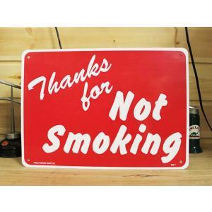 看板/プラサインボード 禁煙エリア Thanks for Not Smoking CA-07 *メール便不可|wappenstore