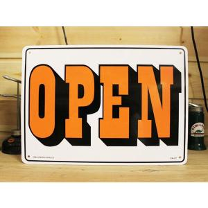 看板/プラサインボード オープン/クローズド Open/Closed(両面プリント) CA-21 *メール便不可|wappenstore