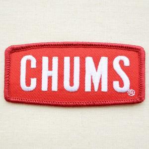 ロゴワッペン Chums チャムス(ロゴダイカット) CH62-0034|wappenstore