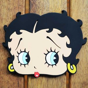 ラバーコースター ベティブープ Betty Boop(フェイス) COB-001B|wappenstore