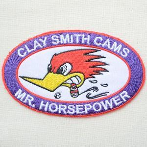 ワッペン クレイスミス Clay Smith Cams(オーバル) CSG012-B|wappenstore