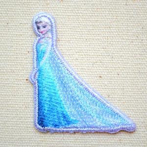 ワッペン アナと雪の女王(エルサ) 名前 作り方 D01Y0788|wappenstore