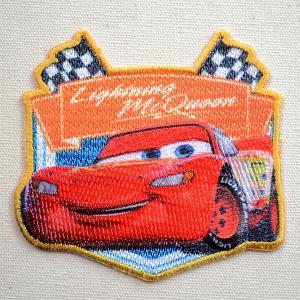 ワッペン ディズニー Cars カーズ3 マックイーン 名前 作り方 D01Y9709